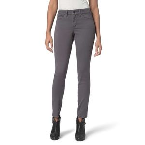 NYDJ Sz 6 High Waist Ami gray legging jeans